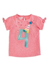 MudPie Four Birthday Tee