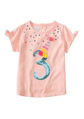 MudPie Three Birthday Tee