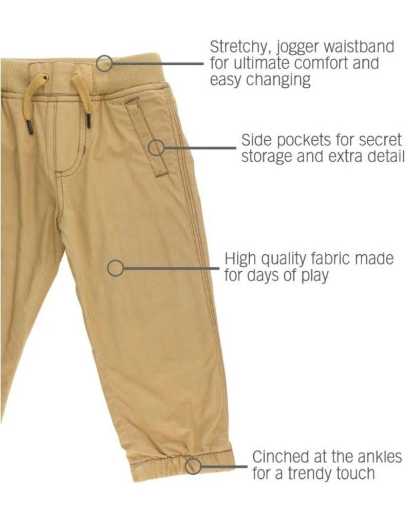 Khaki Chino Jogger Pant