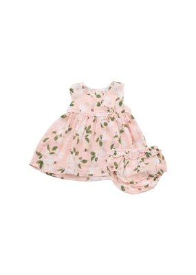 Angel Dear Magnolias Dress and Bloomer