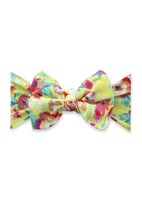 Baby Bling Printed Knot Bright Botanical