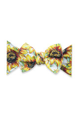 Baby Bling Printed Knot Golden Sunflowers