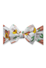 Baby Bling Printed Knot Just Peachy