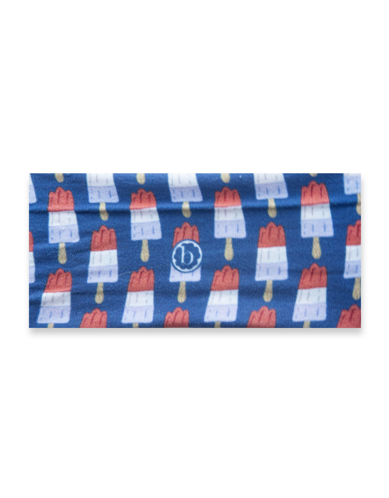 Baby Bling Printed Knot Patriotic Popsicle