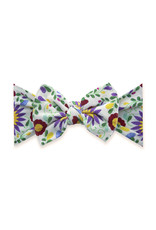 Baby Bling Printed Knot De Flores White