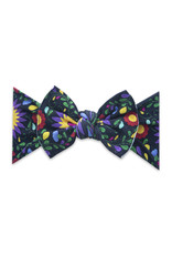 Baby Bling Printed Knot De Flores Black