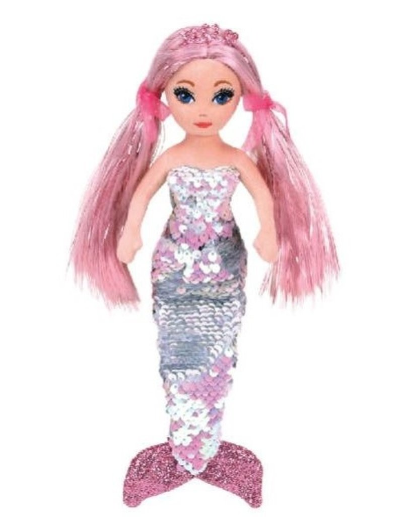 Ty Sea Sequins Flippable Mermaids  Small Cora