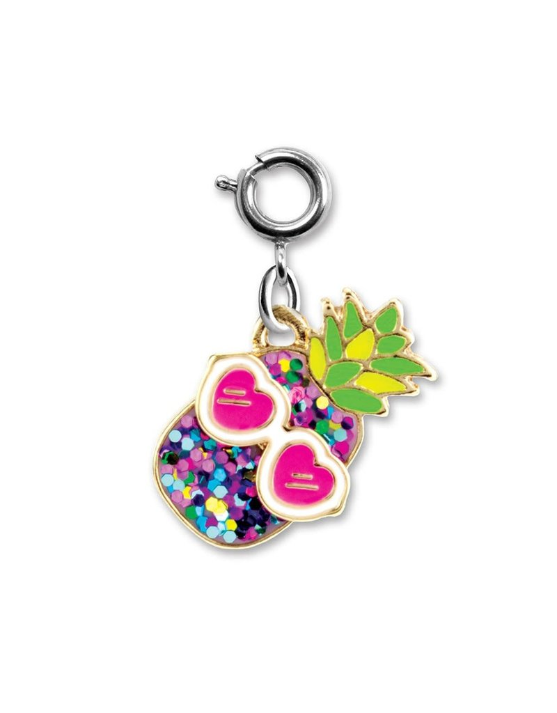 High Intencity Corporation CHARM IT! CHARM IT! Glitter Pineapple Charm