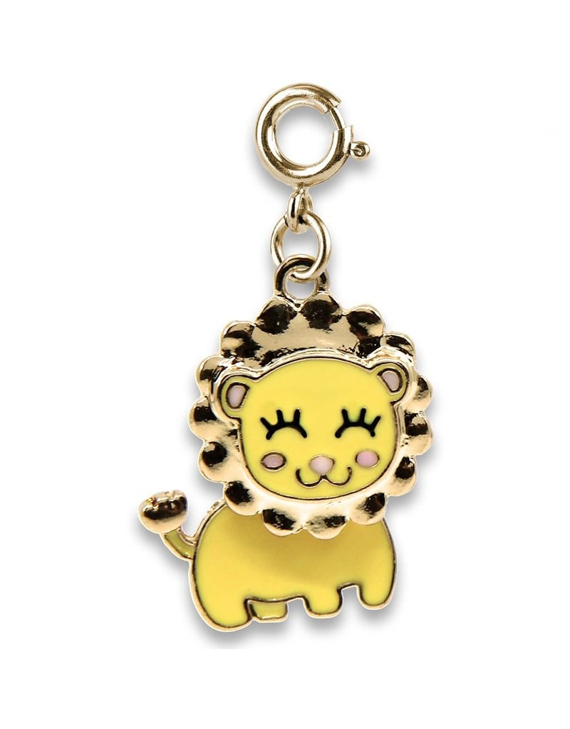CHARM IT! Gold Swivel Lion Charm