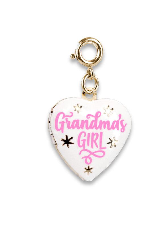 CHARM IT! Gold Grandma's Girl Locket Charm