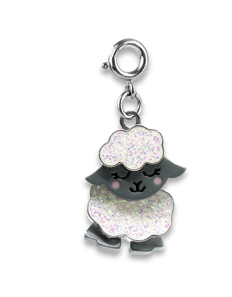 CHARM IT! Swivel Glitter Sheep Charm