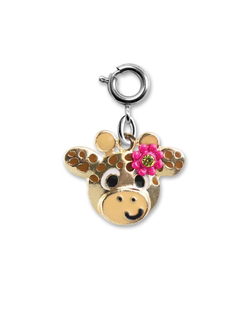 High Intencity Corporation CHARM IT! CHARM IT! Gold Flower Giraffe Charm