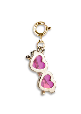 High Intencity Corporation CHARM IT! CHARM IT! Gold Heart Sunglasses Charm