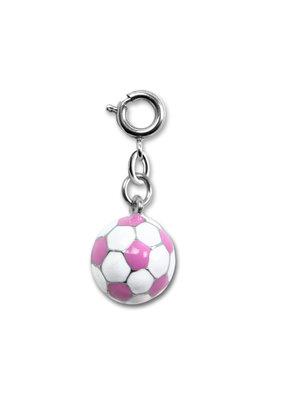 High Intencity Corporation CHARM IT! CHARM IT! Pink Soccer Ball Charm