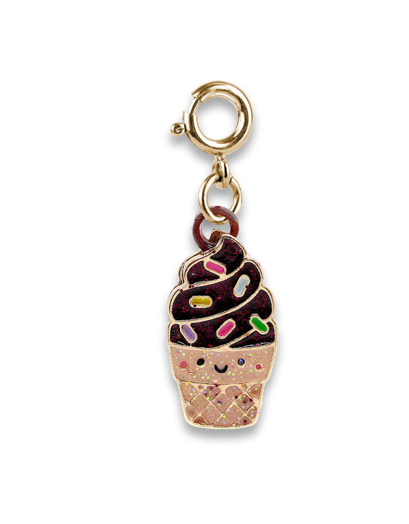 High Intencity Corporation CHARM IT! CHARM IT! Gold Scented Chocolate Soft Serve Charm