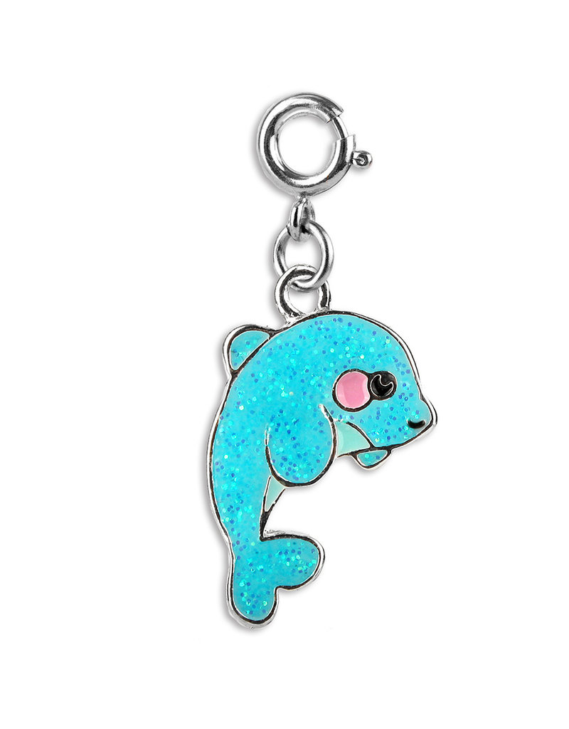 High Intencity Corporation CHARM IT! CHARM IT! Glitter Dolphin Charm