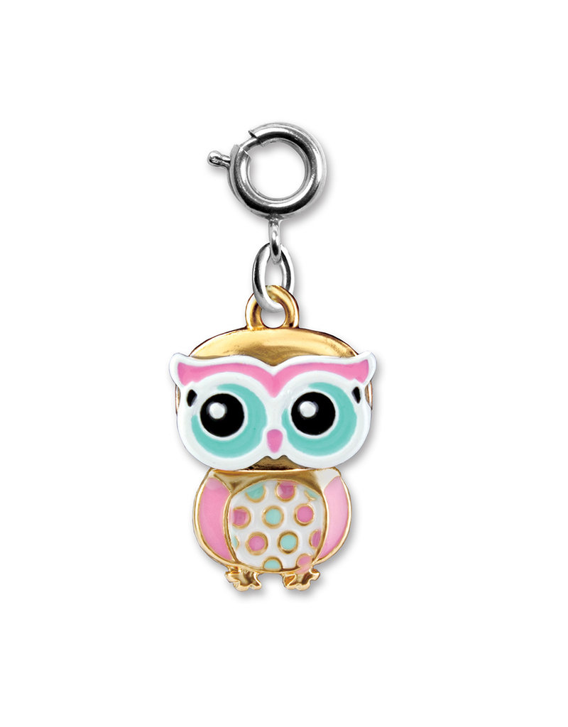 High Intencity Corporation CHARM IT! CHARM IT! Swivel Owl Charm