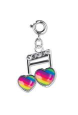CHARM IT! Rainbow Music Note Charm
