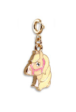 High Intencity Corporation CHARM IT! CHARM IT! Gold Glitter Horse Charm