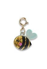 CHARM IT! Gold Glitter Bee Charm
