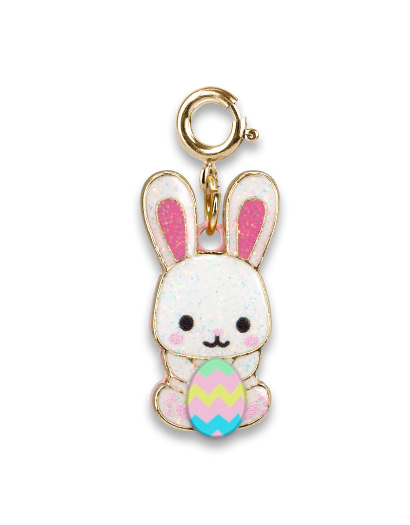 High Intencity Corporation CHARM IT! CHARM IT! Glitter Easter Bunny Charm