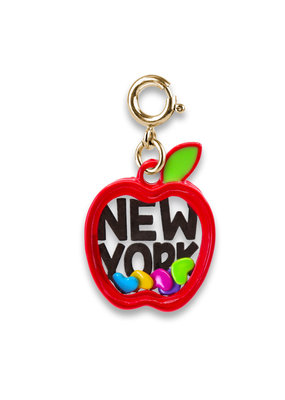 High Intencity Corporation CHARM IT! CHARM IT! Gold New York Apple Shaker Charm