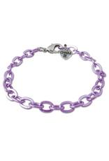 CHARM IT! Purple Chain Bracelet