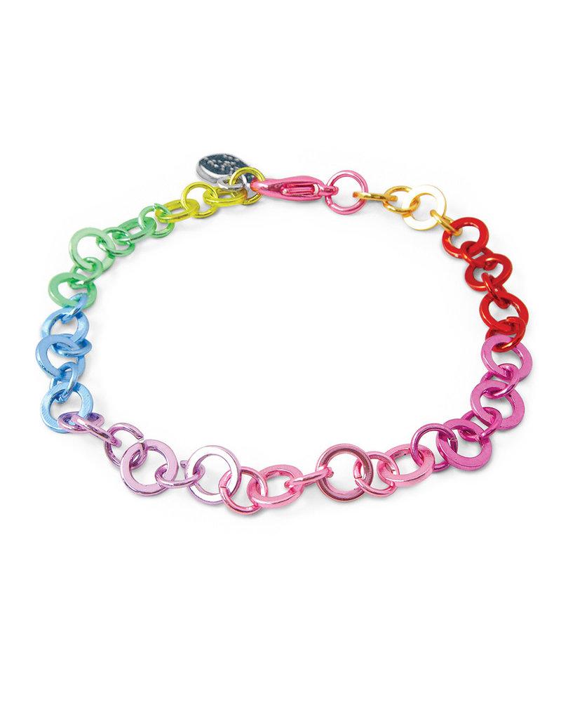 CHARM IT! Rainbow Chain Bracelet