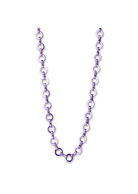 High Intencity Corporation CHARM IT! CHARM It! Purple Chain Necklace