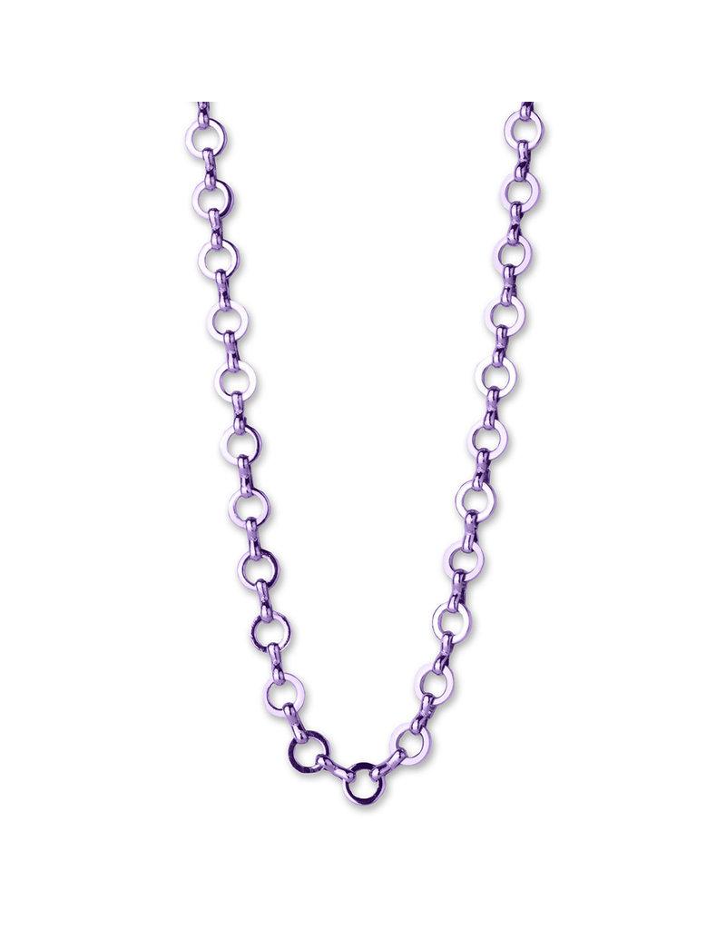 CHARM IT! Purple Chain Necklace