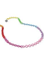 High Intencity Corporation CHARM IT! CHARM IT! Rainbow Chain Necklace