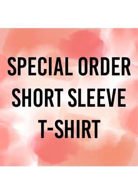 Tracy's Treasures Special Order Short Sleeve Shirt