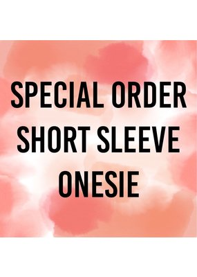 Tracy's Treasures Special Order Short Sleeve Onesie