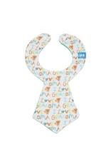 I Love Grandma Tie Bib