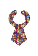 Puzzle Tie Bib