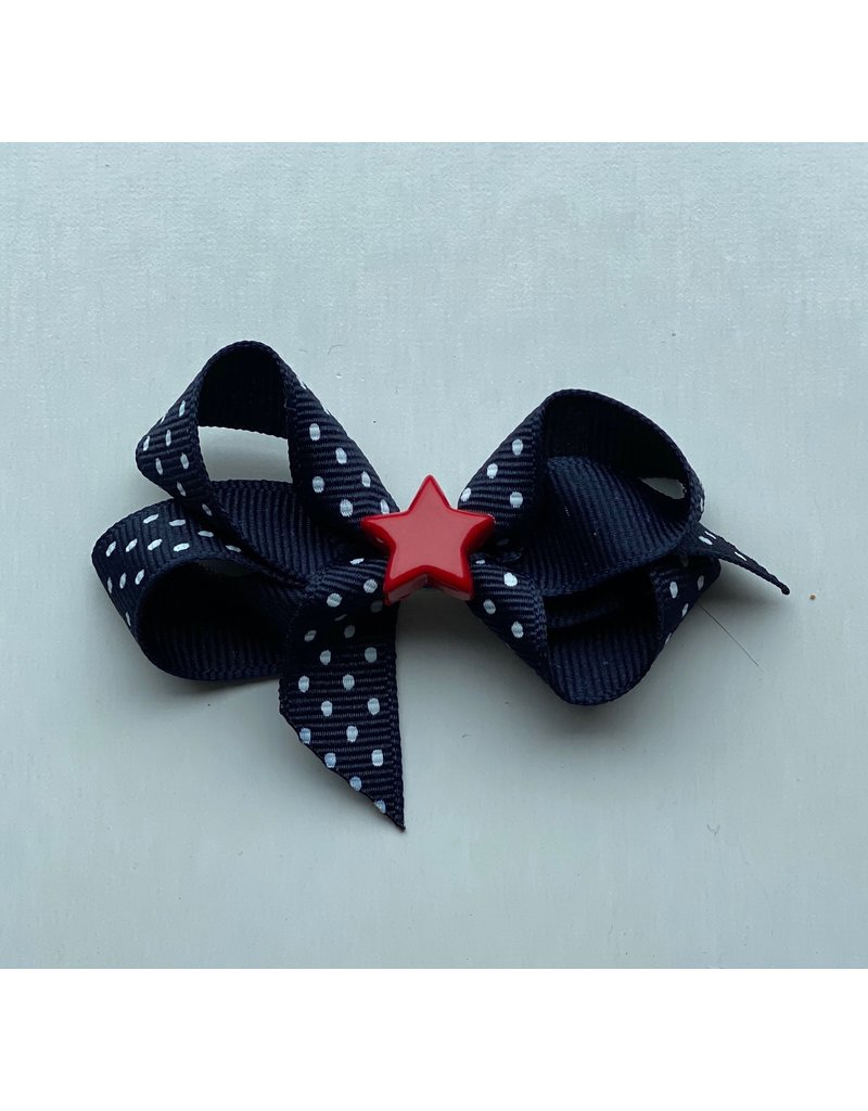 "Bows Arts 4th of July 3"" Bow Star Charm"