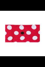 Printed Knot Red Polka Dot