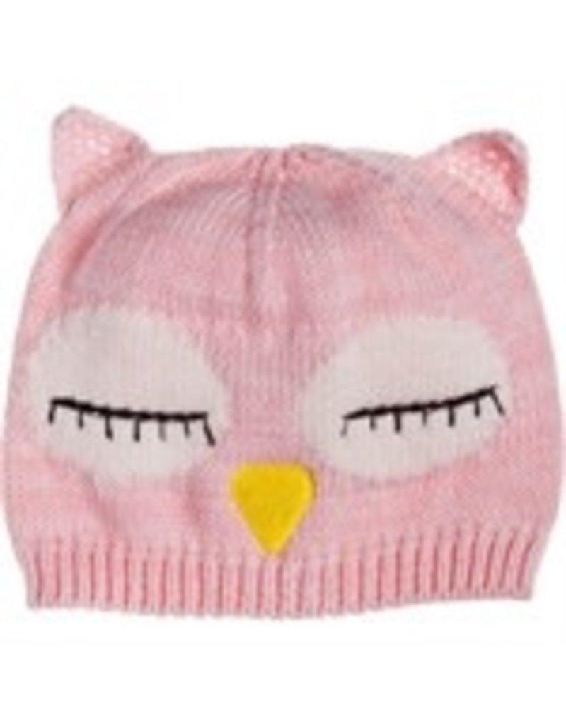 Pink Owl Onesie with Hat 3-6 months