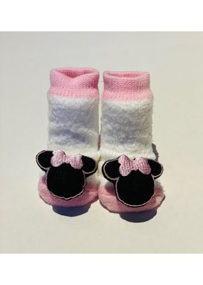 Minnie Pink Waddle Socks