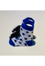 Mickey Blue Waddle Socks
