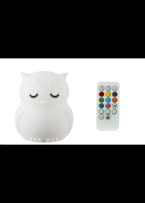 Owl Silicon Night Light