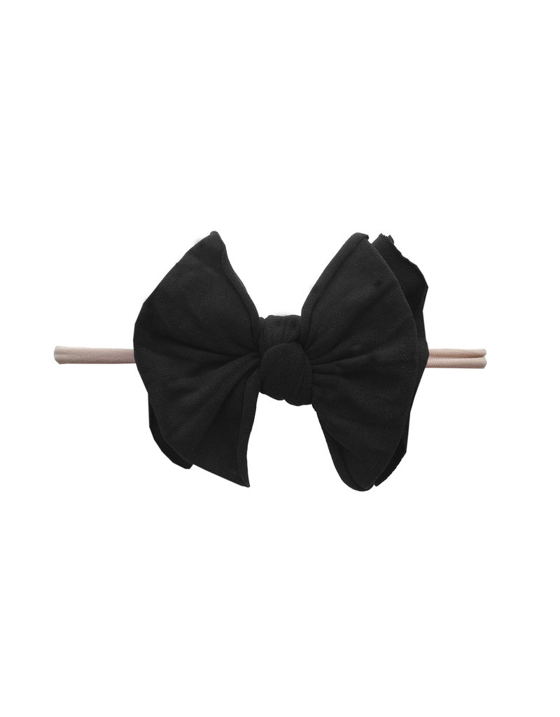 Baby Bling Fab-Bow-Lous Skinny Blush/Black