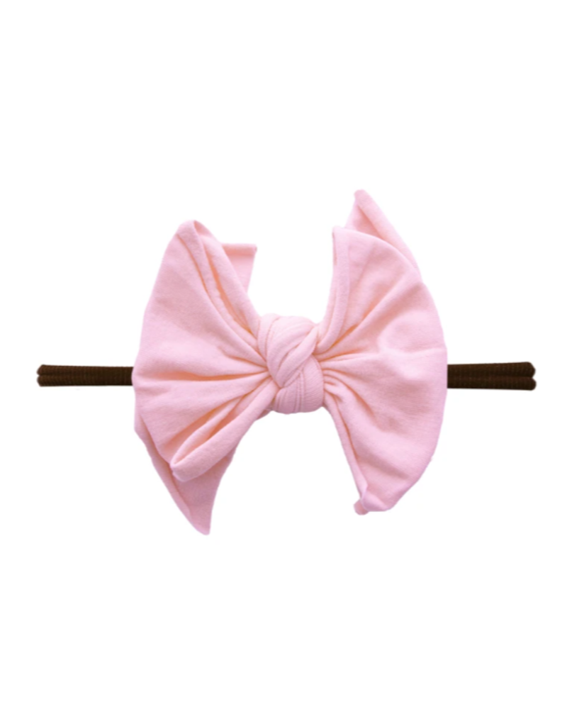 Fab-Bow-Lous Skinny Brown/Pink