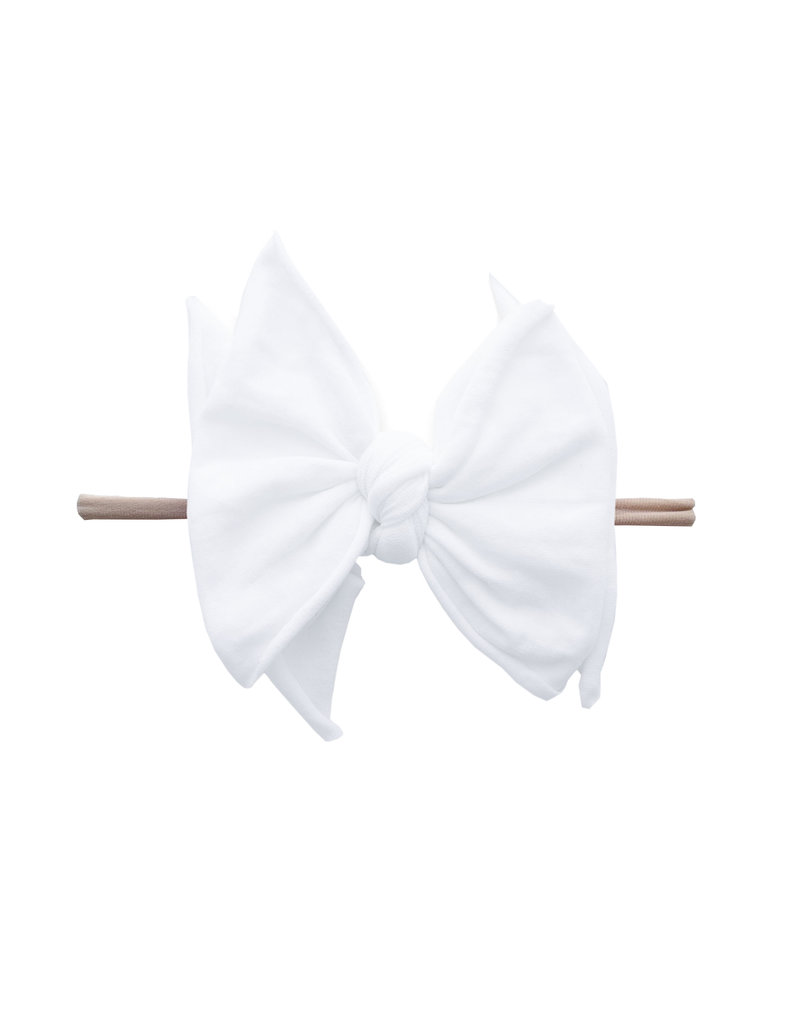 Baby Bling Fab-Bow-Lous Skinny Blush/White