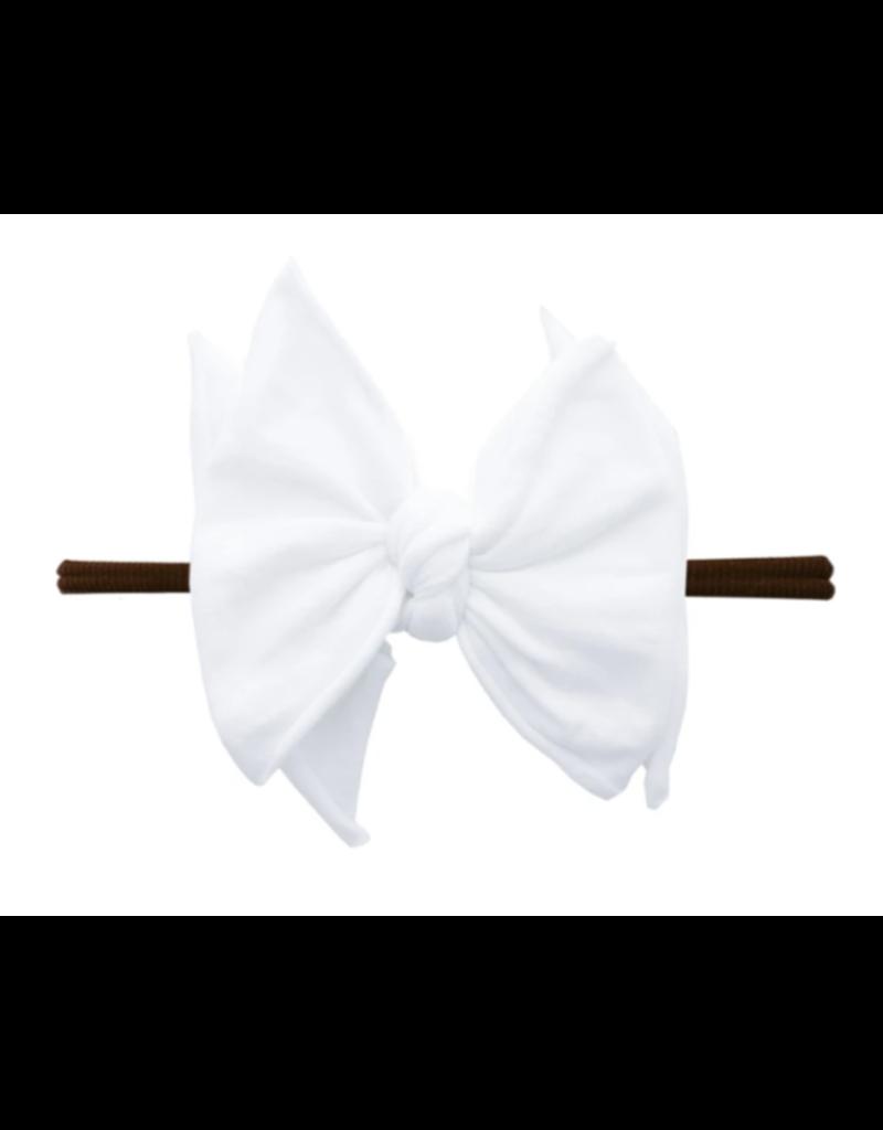 Fab-Bow-Lous Skinny Brown/White