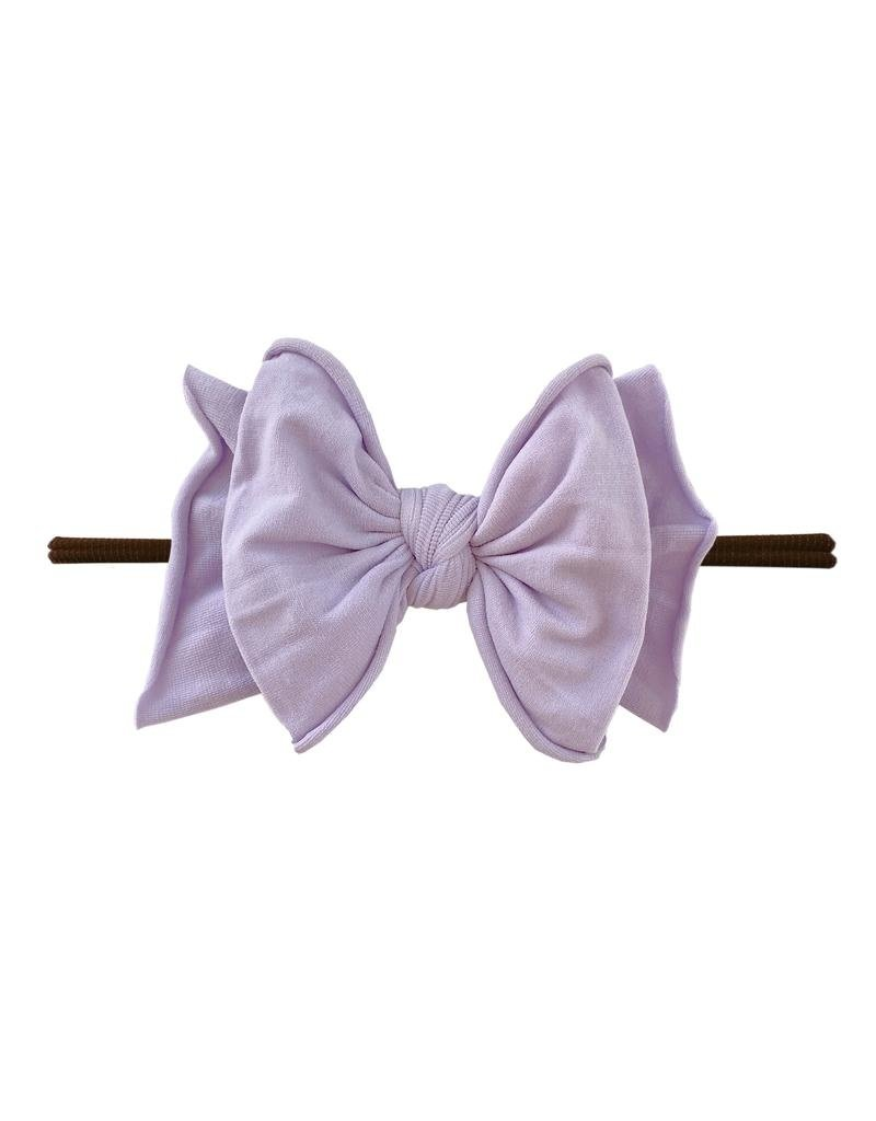 Baby Bling Fab-Bow-Lous Skinny Brown/Light Orchid