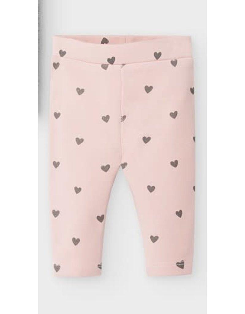 Pink Heart Leggings