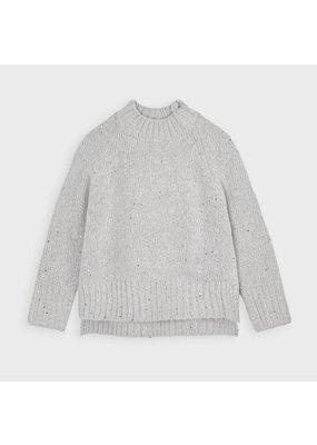 Steel Sequins Sweater