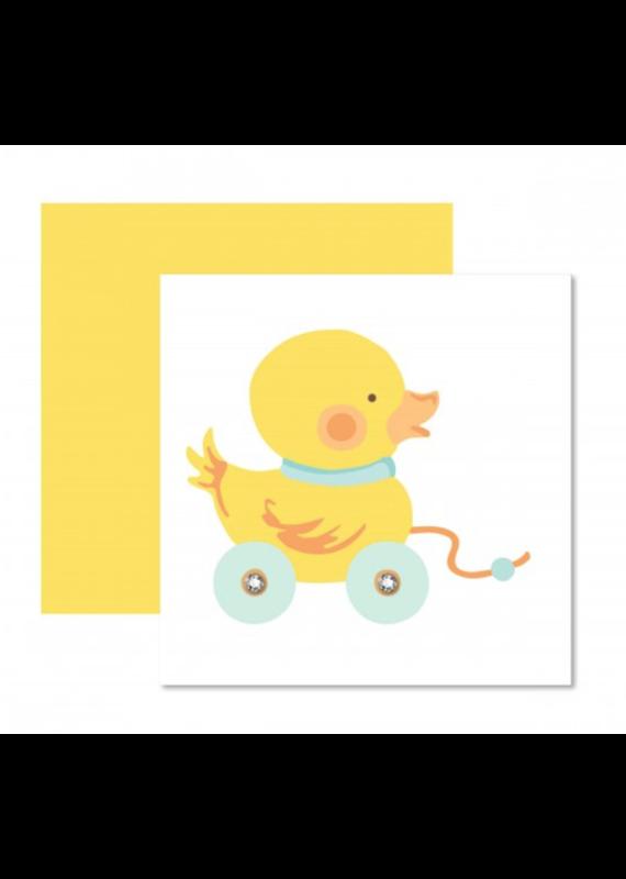 Yellow Ducky Card