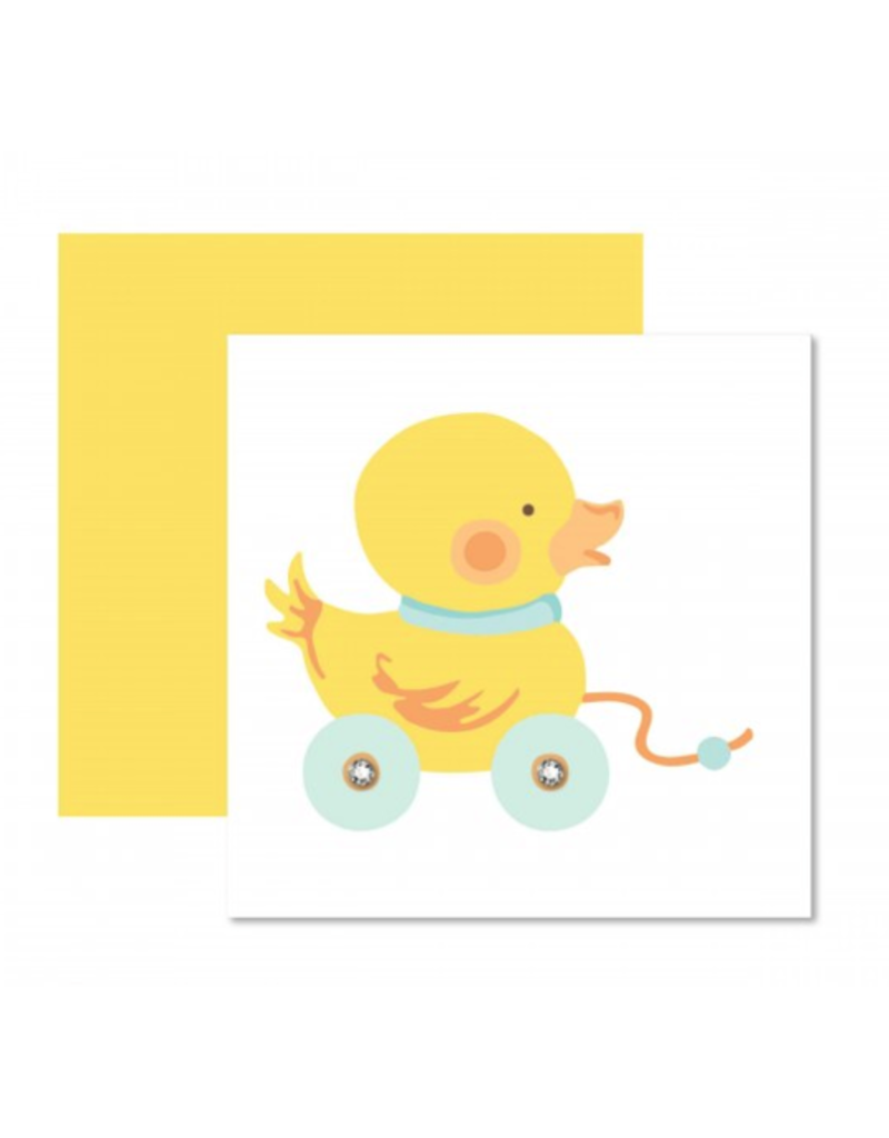 Yellow Ducky Card